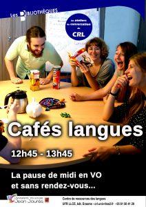 Café langues Anglais & Espagnol
