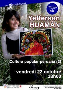 Yefferson Huamán au CRL