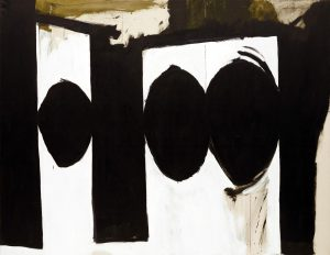Motherwell, Elegy to the Spanish Republic, 54, 1957-1961, 1,78 m x 2,29 m, peinture à l'huile, Museum of Modern Art, New York
