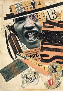 1923-1924 Encre de Chine, reproduction de photographie et imprimés découpés, collés sur papier, 40,4 x 28,2 Centre Pompidou-Musée national d'art moderne, Paris Achat 1974