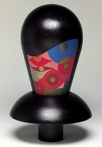 Sophie Taeuber-Arp, Tête dada, 1918. Centre Pompidou-Musée national d'art moderne, Paris