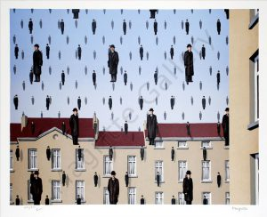 Golconde, Magritte