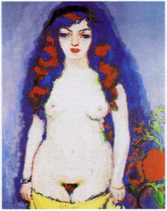Nu de jeune fille, de Kees Van Dongen - 1906/1907 -