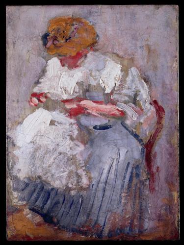 Kees Van Dongen, Femme assise (Femme cousant)