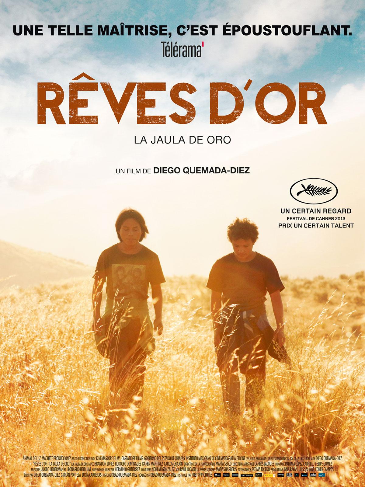 CONF : QUESTIONS À DIEGO QUEMADA-DÍEZ AUTOUR DE SON FILM «RÊVES D'OR»
