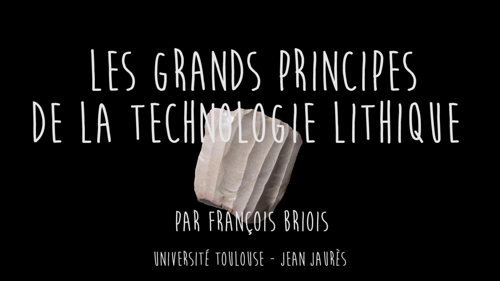 COLLection :  TECHNOLOGIE LITHIQUE PRÉHISTORIQUE