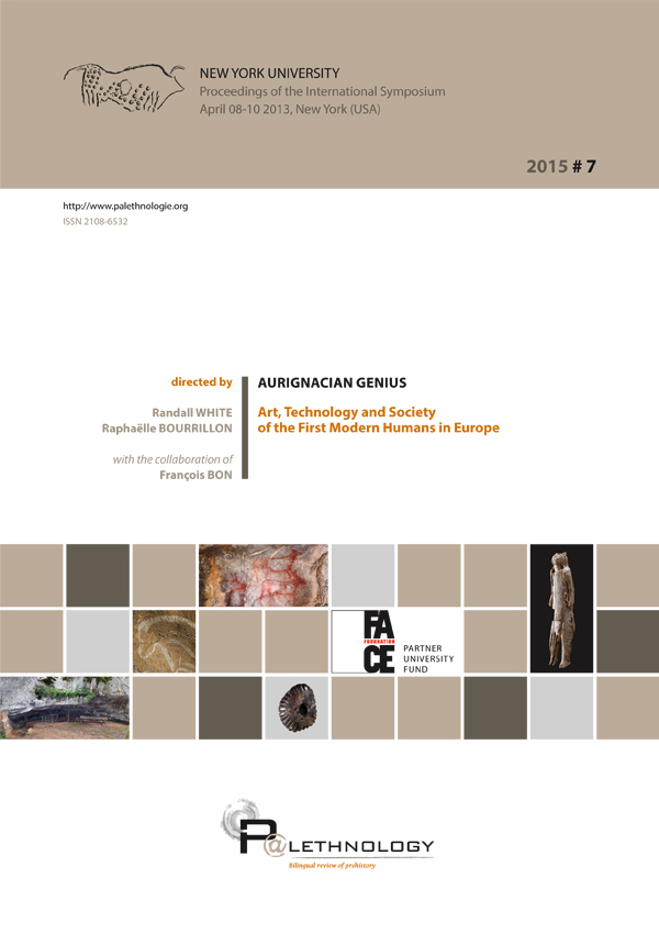 P@lethnology 7 – Aurignacian Genius: Art, Technology and Society of the First Modern Humans in Europe