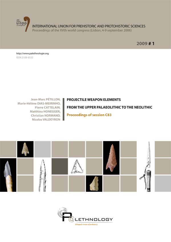 P@lethnology 1 – Projectile weapon elements from the Upper Palaeolithic to the Neolithic