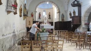 Saint-Aureil - Vue intérieure (Crédit photo : C. Calastrenc)