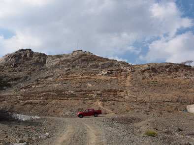 Site de Masafi 1 (Photo : C. Calastrenc)